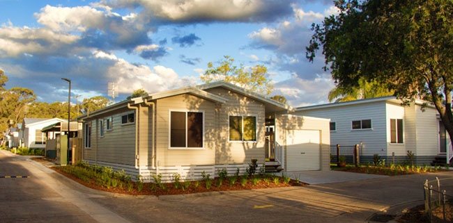 Modular Homes in a Lifestyle Village
